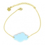 Bracelet Mini nuage ciel