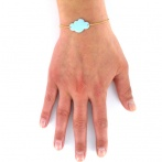 Bracelet Mini nuage ciel Over