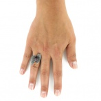 Bague Glam rock Over