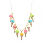 Ice Cream long necklace