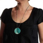 Soleil levant long necklace Over