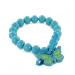 Bracelet Papillon bleu