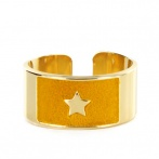 Bague Wonder Woman ocre