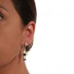 Marionnette des bois earrings Over
