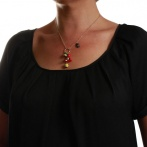 Chaperon et Champignons necklace Over