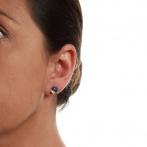 Boucles d'oreilles Chaperon et Champignons Over