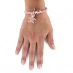 Royal Bear bracelet pink Over