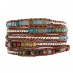 Bracelet Wrap 5 rangs