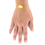 Bracelet Mini nuage citron Over