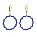 Mandie earrings blue