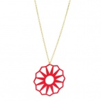 Collier Mandie rouge