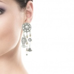 Boucles d'oreilles clips Fossile Over