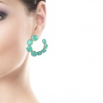 Boucles d'oreilles La Diamantine Over