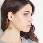 Boucles d'oreilles Paris 1920 hologram Over