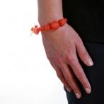 Coco bracelet orange Over