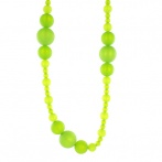 Coco long necklace green