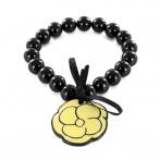 Bracelet Camélia jaune