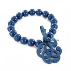 Arabesque bracelet blue