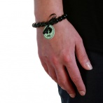 Bracelet Nadia vert pâle Over
