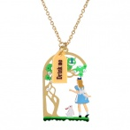 Collier Le Tea Time d'Alice
