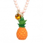 Drôles de Fruits long necklace