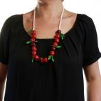 Drôles de Fruits long necklace Over