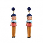 Jeunes Demoiselles earrings