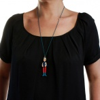 Jeunes Demoiselles long necklace Over