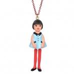 Jeunes Demoiselles long necklace
