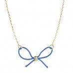 Collier Cadeau bleu