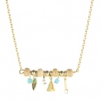 Collier Isis turquoise