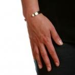 Bracelet Majorelle blanc Over