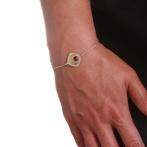 Bracelet Hibiscus et Colibri Over