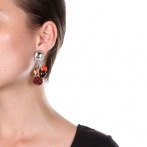 Boucles d'oreilles clips Arabesques Over