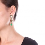 Boucles d'oreilles clips Louisiane Over