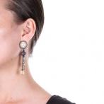 Boucles d'oreilles clips Orage Over