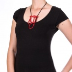 Collier Rosso Over