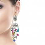 Boucles d'oreilles Mascarade Over