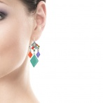 Boucles d'oreilles Pierrot Over