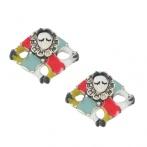 Boucles d'oreilles Pierrot