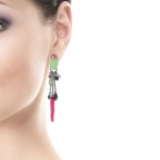 Boucles d'oreilles clips Calista Over