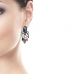 Boucles d'oreilles clips Calista Over