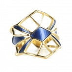 Bague Palais Royal navy blue