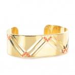 Bracelet Paris 1920 corail fluo