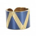 Bague Paris 1920 navy blue