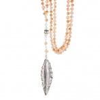 Sautoir 10278 Champagne Crystal