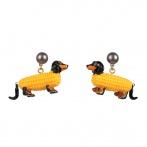 Boucles d'oreilles Bio Food
