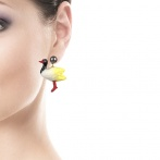 Boucles d'oreilles Bio Food Over