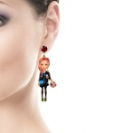 Boucles d'oreilles Fashion Week Over