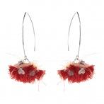Boucles d'oreilles Pompom